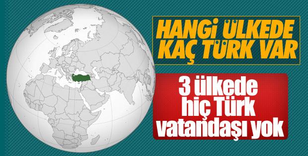 152 ülkede 5 milyon Türk vatandaşı yaşıyor