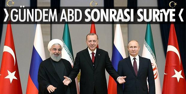 Bugün Rusya'da zirve gerçekleştirilecek