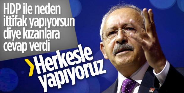 Kılıçdaroğlu'nun ittifak savunması