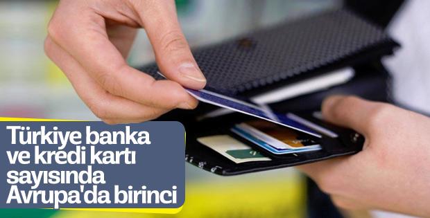 Türkiye kredi kartında Avrupa'yı geride bıraktı