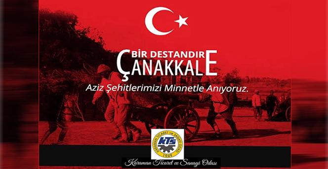 "KTSO'dan ""18 Mart Çanakkale Zaferi"