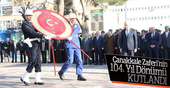 18 Mart Çanakkale Zaferi Törenle Kutlandı