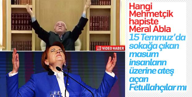 Akşener'den FETÖ'cü hainlere Mehmetçik benzetmesi