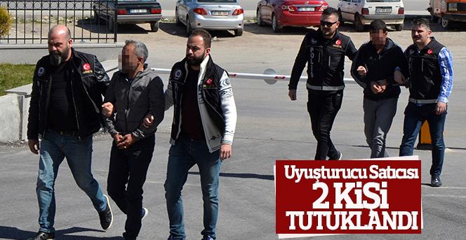 Karaman'da uyuşturucu haptan 2 kişi tutuklandı