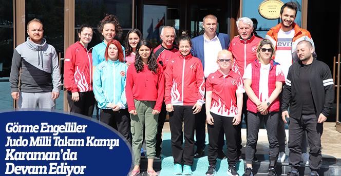 Judo Milli Takım Kampı Karaman'da Devam Ediyor