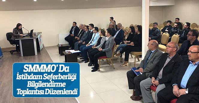 SMMMO' Da İstihdam Seferberliği Toplantısı Düzenlendi
