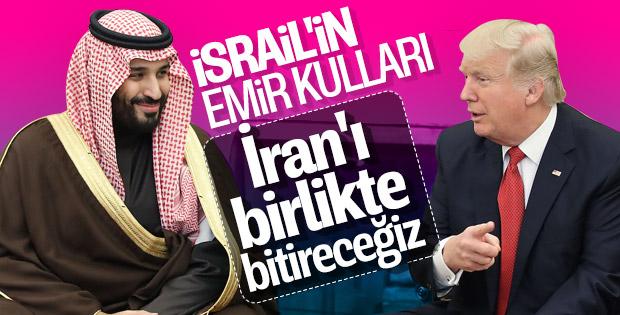 Trump'tan Prens Selman'a İran talimatı