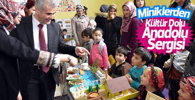 Miniklerden Buram Buram Anadolu Kokan Sergi