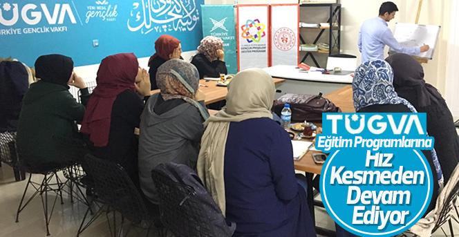 TUGVA  Eğitim Programları hız kesmeden devam ediyor.