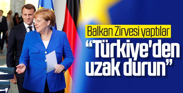 Fransa ve Almanya Balkan Zirvesi yaptı