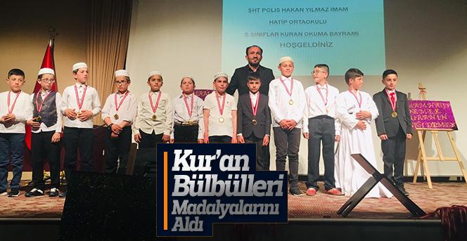 Kur'an Bülbülleri Madalyalarını Aldı