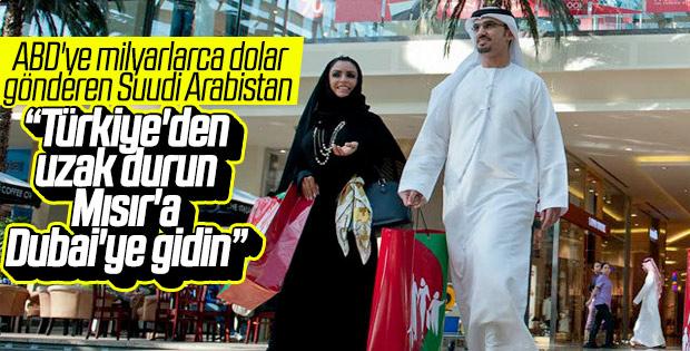 Suudi Arabistan, Türkiye'ye gitmeyin çağrısı yaptı