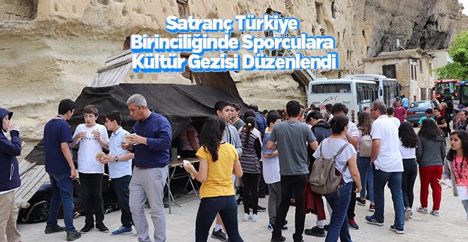 Satranç Türkiye Birinciliğinde Sporculara Kültür Gezisi Düzenlendi