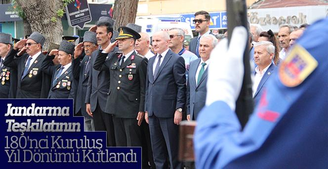 Jandarma Teşkilatının 180'nci Kuruluş Yıl Dönümü Kutlandı