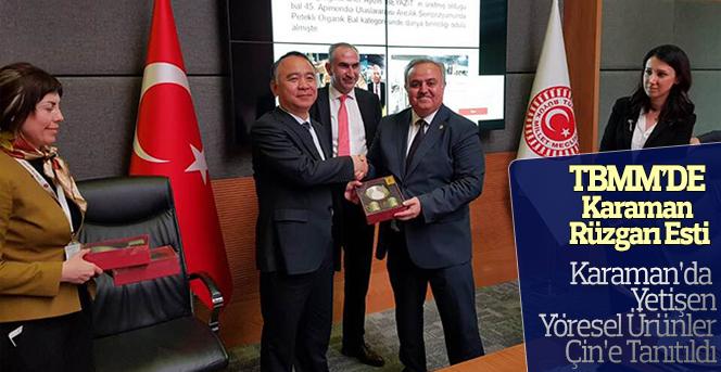 Karaman'da Yetişen Yöresel Ürünler Çin'e Tanıtıldı