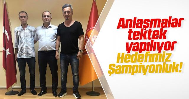 Mustafa Karakaş; Hedefimiz Şampiyonluk
