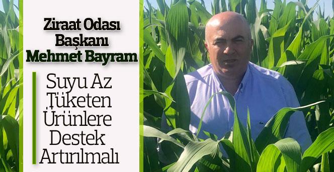 Karaman'da Suyu Az Tüketen Ürünlere Destek Artırılmalı