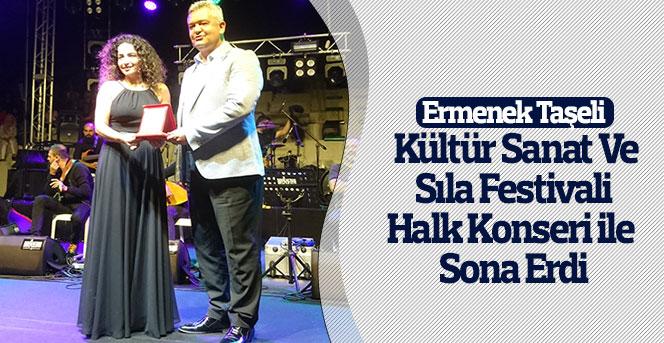 Ermenek Taşeli Kültür Sanat Ve Sıla Festivali Sona Erdi