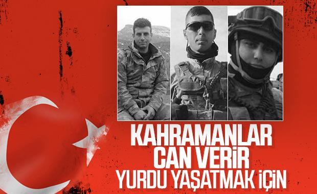 Şırnak'ta şehit olan askerlerimizin kimlikleri belli oldu