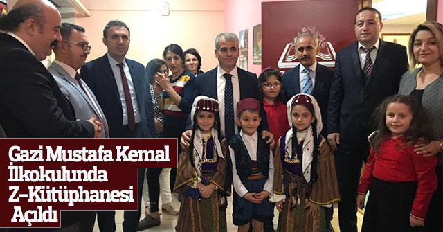 Gazi Mustafa Kemal İlkokulunda Z-Kütüphane Açılışı