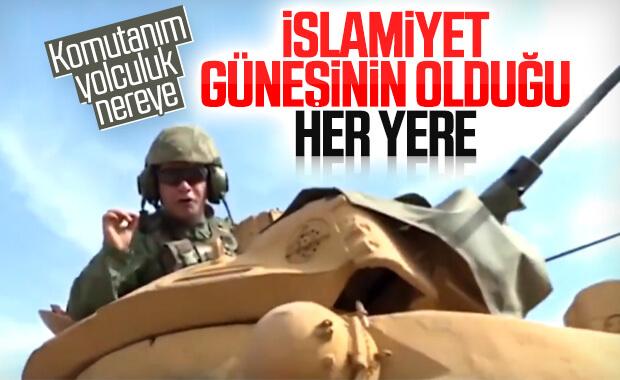 Barış Pınarı Harekatı'na katılan askerin mesajı