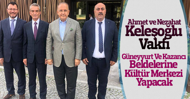 Hayırsever Vakıf, Karaman'da iki beldeye kültür merkezi yapacak