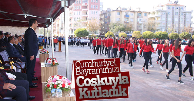 Cumhuriyet Bayramımızı Coşkuyla Kutladık