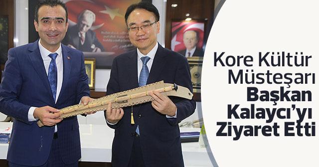 Kore Kültür  Müsteşarı  Başkan  Kalaycı'yı  Ziyaret Etti