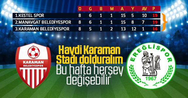 Karaman Belediye sporun yükselişine devam