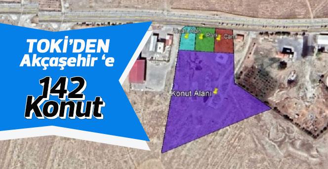 TOKİ'den Akçaşehir 'e 142  Konut