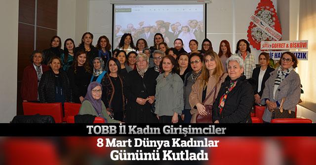KTSO 8 Mart Dünya Kadınlar Günü Kutladı