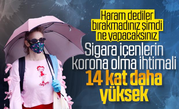 Sigara içenler için koronavirüs tehlikesi