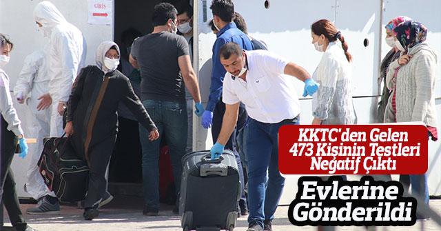 Karantinadaki 473 Kişinin Testleri Negatif Çıktı Evlerine Gönderildi