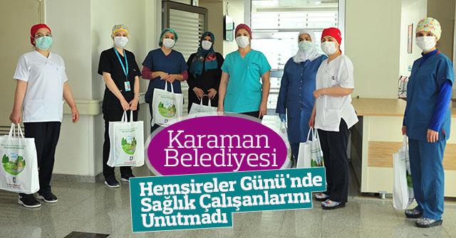 Karaman Belediyesi, Sağlık Çalışanlarını Unutmadı