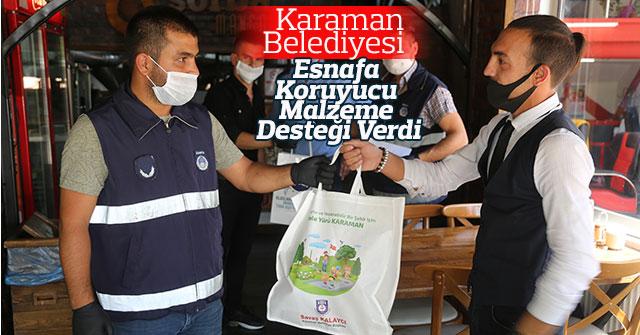 Karaman Belediyesi Esnafın Yanında