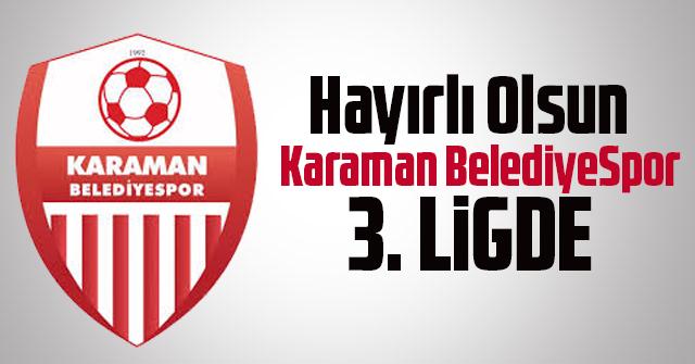 Karaman Belediye Spor 3. Ligde