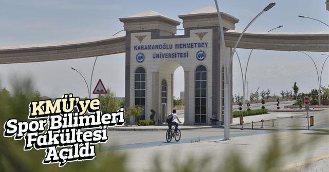 Spor Bilimleri Fakültesi Açıldı