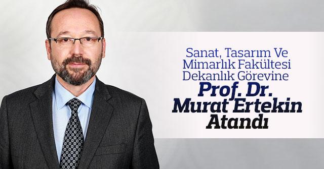 Rektör Akgül'den Dekan Ertekin'e Tebrik