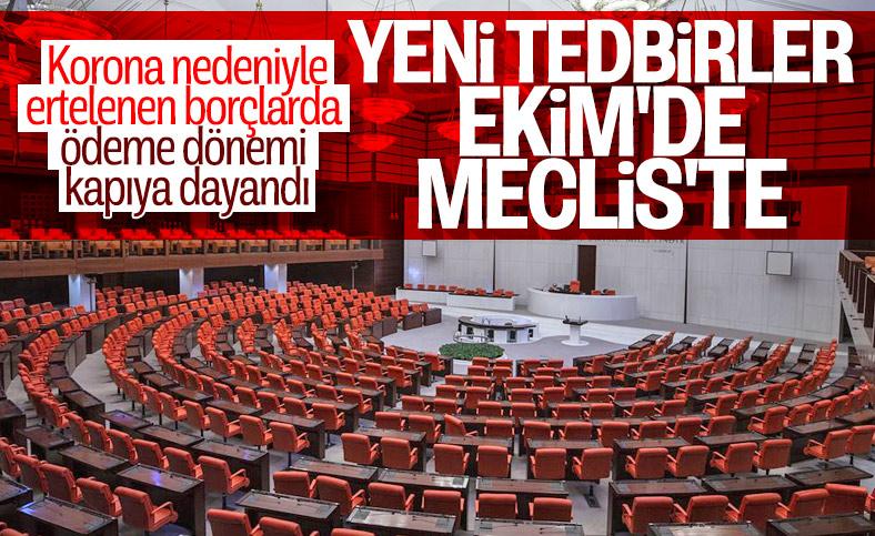 Devlete olan borçlar için düzenleme Meclis'te