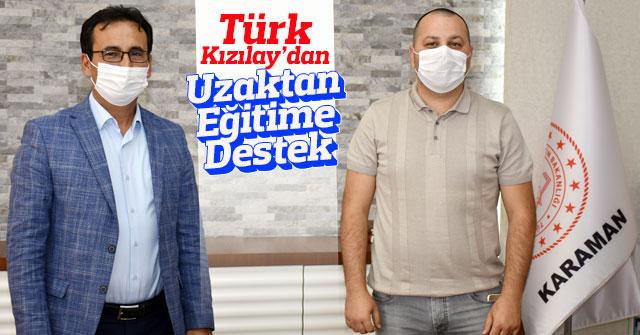 Türk Kızılay'dan Uzaktan Eğitime Yakın Destek Çağrısı