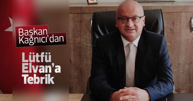 Mustafa Cem Kağnıcı'dan Lütfi Elvan'a Tebrik Mesajı