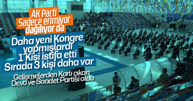AK Parti dağılma sürecine girdi