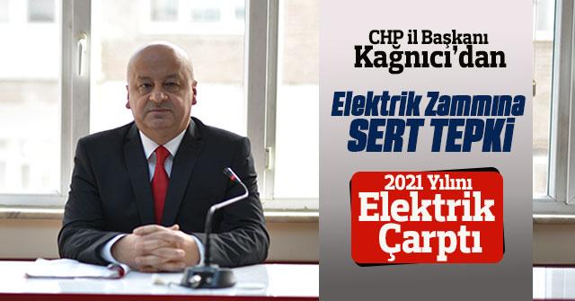 Başkan Kağnıcı'dan elektrik zammına tepki
