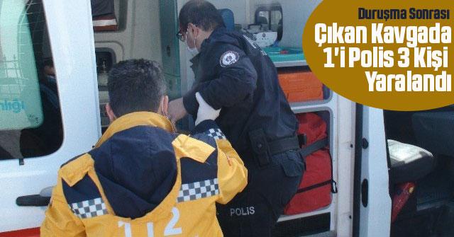 Duruşma Sonrası Çıkan Kavgada 1'i Polis 3 Kişi Yaralandı
