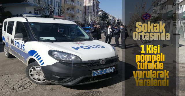 Karaman'da silahlı saldırı: 1 yaralı