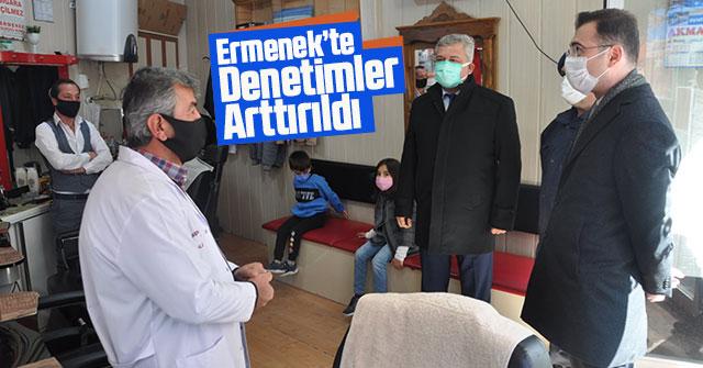 Ermenek'te Kontrollü Normalleşme Denetimleri Arttırıldı