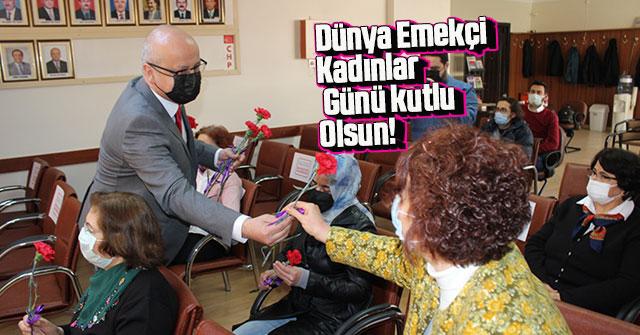 Başkan Kağnıcı'dan 8 Mart Dünya Emekçi Kadınlar Günü Mesajı