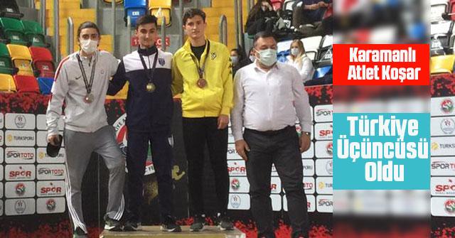 Karamanlı Atlet Koşar'dan Bronz Madalya