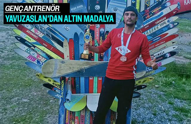 Genç Antrenör Yavuzaslan'dan Altın Madalya